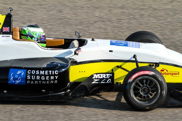 Cosmetic Surgery Partners sponsor F3 driver Toby Sowery