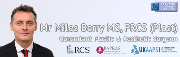Cosmetic Surgeon Mr Miles Berry
