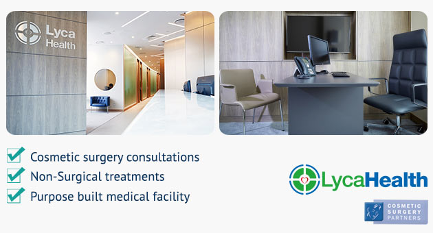 cosmetic surgery partners London canary wharf