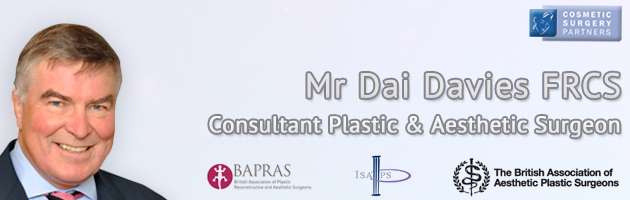 Cosmetic Surgeon Mr Dai Davies