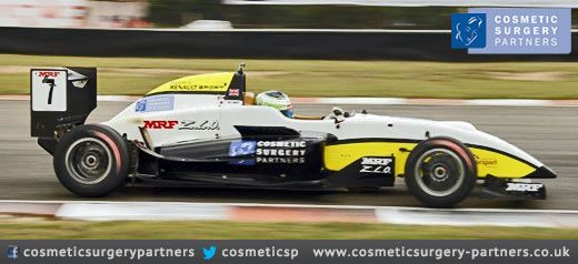 Cosmetic Surgery Partners at Pole Position!