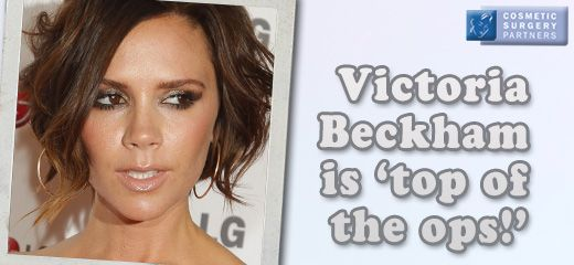 Our UK surgeon Mr Miles Berry comments on Victoria Beckham's 'super boobs'