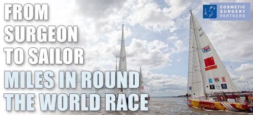 Cosmetic Surgeon to Sailor - Miles Berry takes on the Clipper Round The World Yacht Race