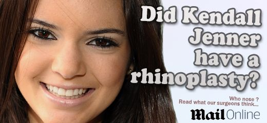Has Kendall Jenner had a nose job? Miles Berry comments...