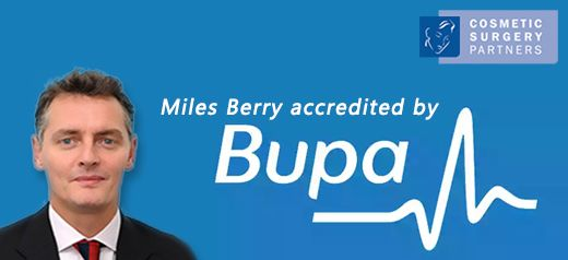 Miles Berry gets Bupa consultant recognition
