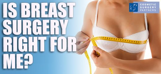 Is breast reduction surgery right for me?