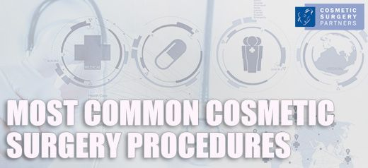 The Most Common Correctional Cosmetic Procedures