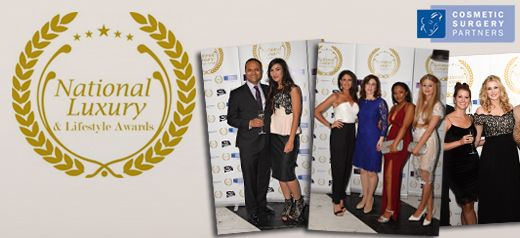 Cosmetic Surgery Partners sponsors Best Luxury awards 2015
