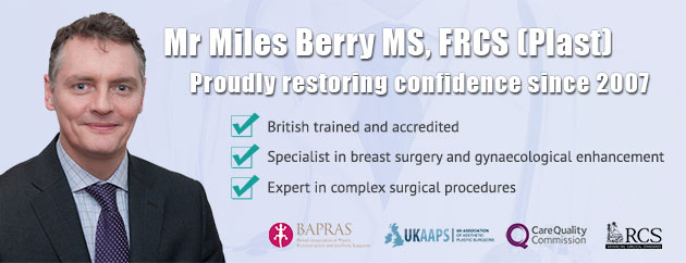 Mr Miles Berry Cosmetic Surgery Partners