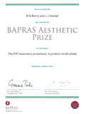 Breast Augmentation part III JPRAS Miles Berry of Cosmetic Surgery Partners