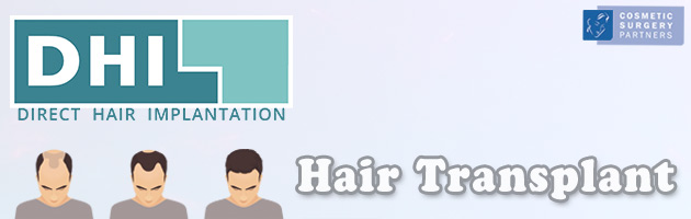 DHI hair transplants cosmetic surgery partners