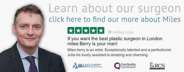 London based cosmetic surgeon miles berry