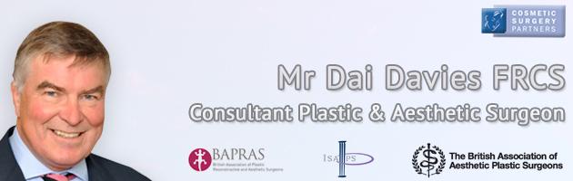 Cosmetic Surgeon Mr Dai Davies