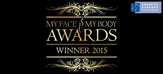 Cosmetic Surgery Partners win best clinic at My Face My Body Awards 2015