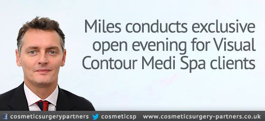Miles Berry to attend exclusive event at Visual Contour Medi Spa