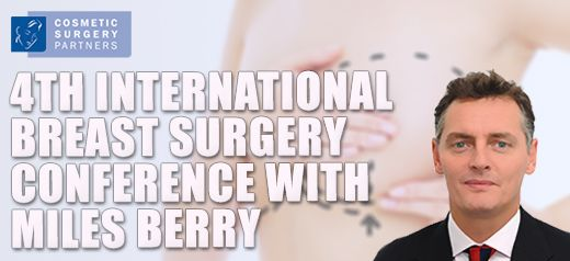 Miles Berry is speaking at the Fourth International Breast Surgery Workshop