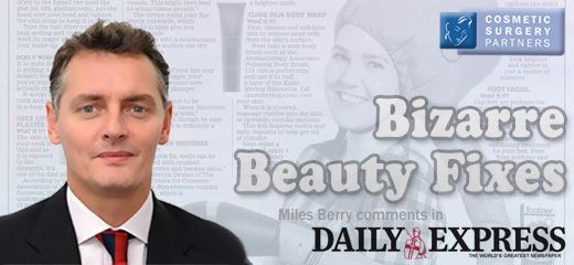 Lip filler with no injections necessary is it real? Miles Berry comments