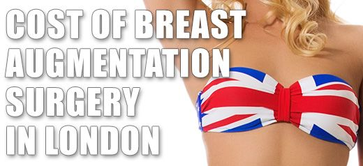 Breast Augmentation Surgery Cost in London