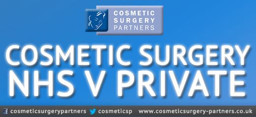 Cosmetic Surgery: NHS vs. Private [Infographic]