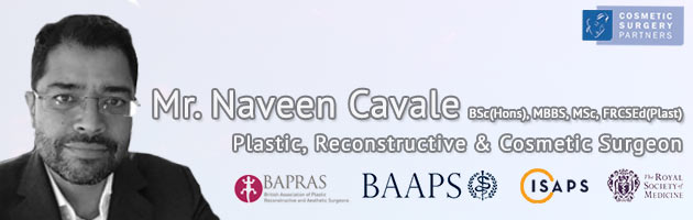 Cosmetic Surgeon Mr Naveen Cavale