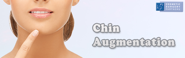 Chin implant augmentation cosmetic surgery in London