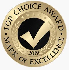 Top Choice Award Winner 2019