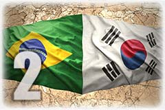 Racial swap Korean Brazilian